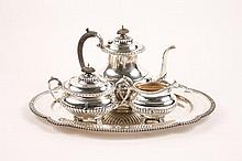 Reed & Barton Stratford Sterling 4 Pc. Tea Set