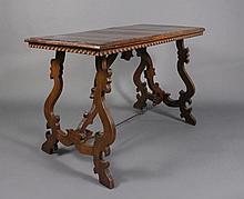 Italian Baroque Style Walnut Refectory Table