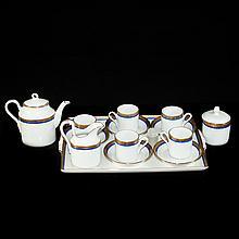 Richard Ginori Porcelain Tea Set
