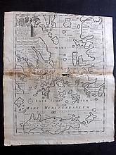 West Indies/Caribbean & Central America C1860-1914 Lot of 13 Maps. Cuba, Jamaica, Panama, Mexico, Porto Rico,