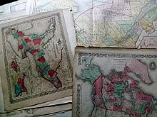 Canada C1855-1914 Lot of 37 Maps
