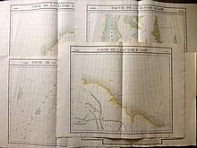 Russia - Vandermaelen, Philippe 1827 Lot of 29 Lithographed Maps