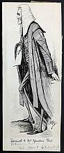 Reed, Edward Tennyson (1860-1933) Original Pen & Ink for Punch 1895.