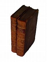 Hearne, Thomas & Wood, Anthony a  - The Lives of Those Eminent Antiquaries John Leland, Thomas Hearne, and Anthony a Wood, 2 Vols, 1772