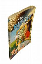 Rupert Annual - The New Rupert Book, 1946, Illustrated by Alfred Bestall, Fine Copy