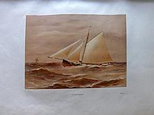 Shields, Henry & Meikle, James - Famous Clyde Yachts, 31 Plates, First Edition, 1888
