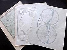 Celestial/Astronomy 19th Century. Lot 8 Maps/Charts