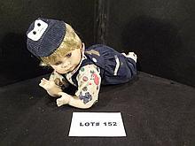 Porcelain boy doll