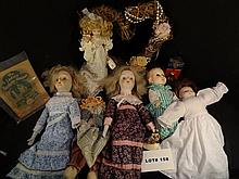 Big lot of dolls, collectibles