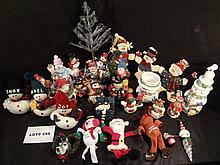 Huge lot of twenty six  Holiday items