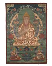 Chinese Tibetan Thangka Art