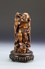 Chinese Boxwood Statue