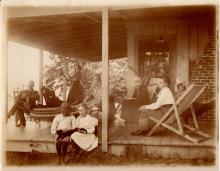 Photo of Family on Porch
