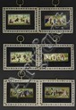 Six Indian Ivory Miniature Paintings