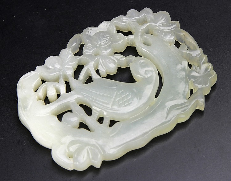 Chinese Carved Jade Ornament