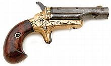 Engraved Colt Third Model Thuer Deringer With British Proofs
