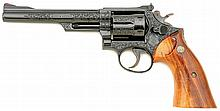 Factory Engraved Smith & Wesson Model 53-2 Centerfire Magnum Revolver
