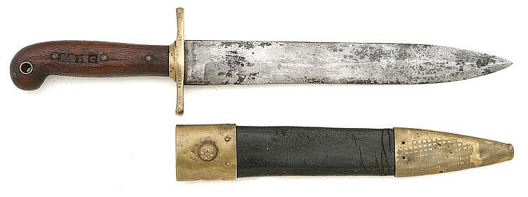 U.S. Model 1849 Rifleman's Knife by Ames