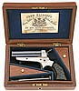 Fine Cased Tipping & Lawden Sharps Patent Pepperbox