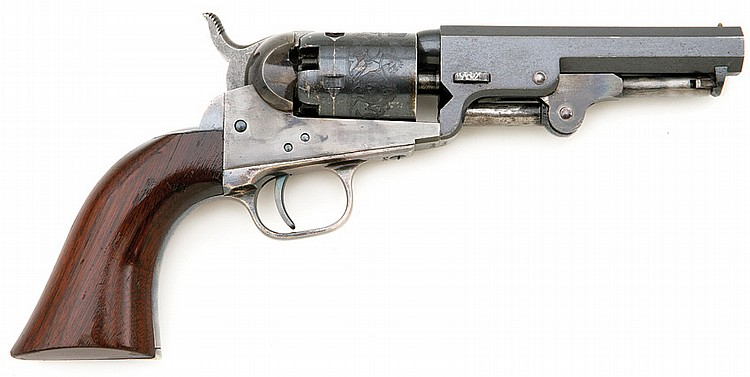 Superb Colt Model 1849 Pocket Revolver