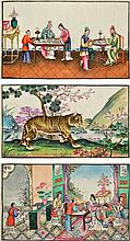 19th Century Chinese School SCENES OF IMPERIAL COU