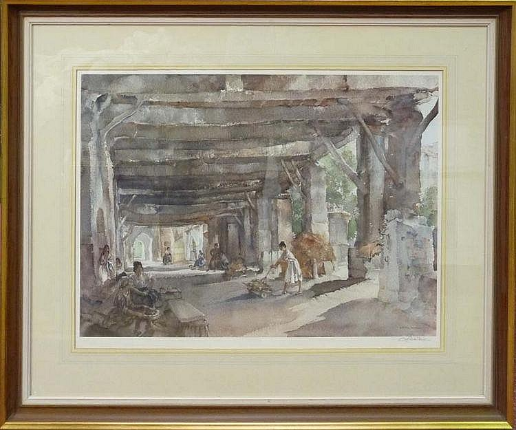 After Sir William Russell Flint, RA, PRWS