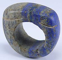 Proche Orient - Bague en palis lazuli - 1er mill. av. J.-C.