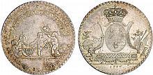 Jeton - Louis XVI (1774-1792) - Plumassiers et fleuristes 1776