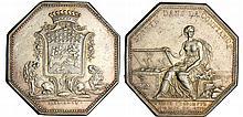 Jeton - Louis XVI (1774-1792) - Caisse d'escompte 1776