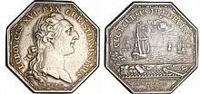 Jeton - Louis XVI (1774-1792) - Chambre de commerce de Marseille 1775