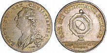 Jeton - Louis XVI (1774-1792) - Conseillers du Roi et Notaires