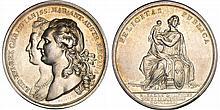 Louis XVI (1774-1792) - Médaille de la naissance du Dauphin 1781
