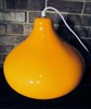 Vintage Orange Venini Designer Glass