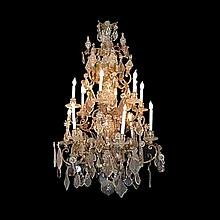 Magnificent Eary 19th Century Crystal Chandelier