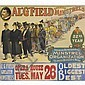 Al. G. Field Greater Minstrels poster;