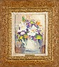 Ruth Bernice Anderson, (1914-2002), floral still life, oil on canvas, 10