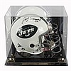 Joe Namath autographed NFL Pro-Football New York Jets helmet.