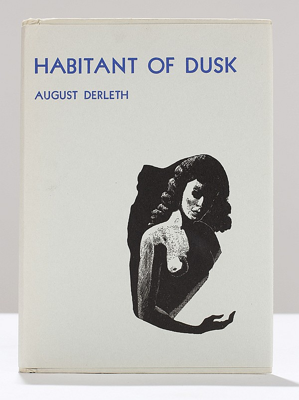 Habitant of Dusk signed August Derleth Limited Edition book of poems,
