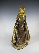 Alexandre CLERGET (1856-1931) bronze statue