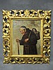 Rodolfo AGRESTI ( XIX ) Italian monk painting