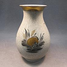 Royal Copenhagen ceramic vase