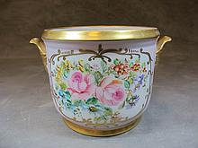 Antique French hand painted porcelain bowl