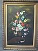 Italian artist RUGGERI (1902-?) flowers painting
