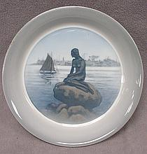 Antique Royal Copenhagen porcelain plate