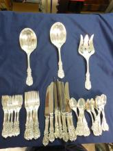 ANTIQUE FRANCIS IST REED & BARTON STERLING  SERVICE 8