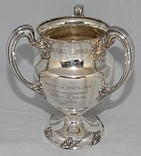 Large 1910 Towle Sterling Silver Presentation Loving