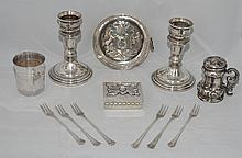 Lot of Sterling & Silver Accessories
