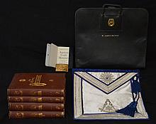 Lot of Masonic Books and Memorabilia