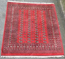 Larger, Red Oriental Rug