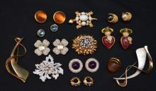 Lot of Designer Costume Jewelry (Kenneth Lane, Dior)